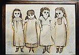 "Sandy Mastroni ""The Doll Collection"" 25.5"" x 20"""